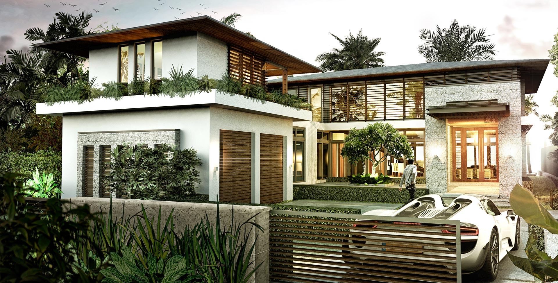 Villa Aman Entrance